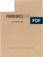 Pike, Kenneth. Phonemics. A technique for reducing languages to writing