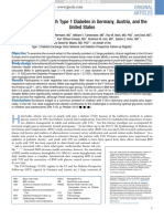 Obesity in Youth With Type 1 Diabetes in Germany, Austria, And The