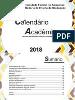 Calendario Academico 2018 - Janeiro