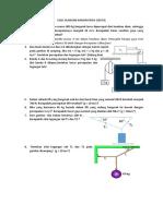 Soal Ulangan Harian Fisika