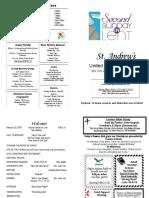 St Andrews Bulletin 022518