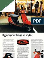 Honda Us a 1983 Aero