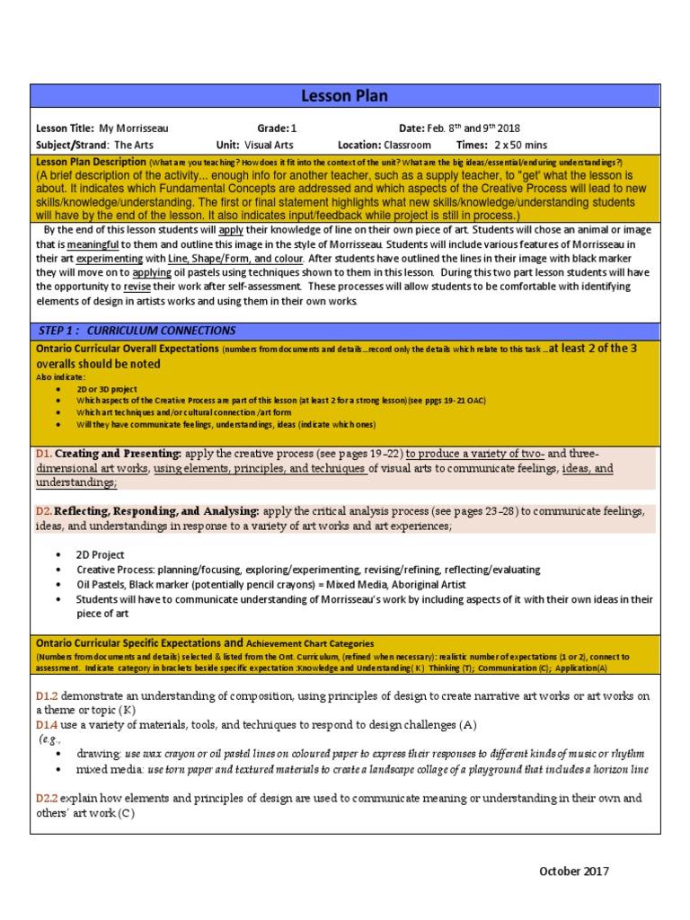 andersonkatelynartlessonplan | Educational Assessment