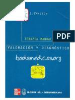 Portada Terapia Manual Valoracion y Dg