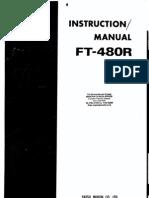 Yaesu FT-480R Instruction Manual
