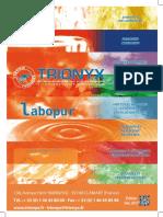 Catalogue 2017 Trionyx - Universal Technique 2018
