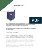 Programar Control Remoto Ford