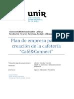 Plan de Empresa Creacion Corrales Parrado, Alberto