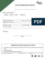 ACLRE28 Solicitud de Terminación de Contrato