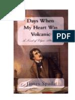 Days When My Heart Was Volcanic--A Novel of Edgar Allan Poe