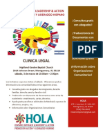 Clinica Legal March 2018 - Full Page Flyer FINAL