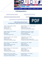 PVTA Meeting Notices