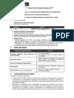 Cas 020-2018 - Inspector de Transporte - Junin