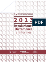 RESOLUCIONES2013