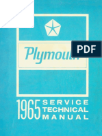 1965 Plymouth Service Manual