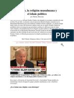 Trump, La Religión Musulmana y El Islam Político