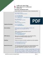 Pim School Information Sheet 2017 18