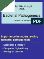 Bacterial Pathogen Es is 2005