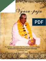 2010 Vyasa Puja