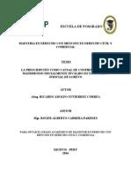Buena Doctrina Acto Juridicoricardo Tesis Maestria 2016