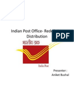 Indian Post Office- Redefining Distribution