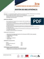 Bases de Competencia Maratón de Mecatrónica