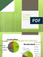Energías Renovables Para Generar Energía Eléctrica en México