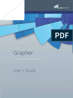 Golden Software Grapher v13.x - User's Guide [Grapher13FullGuide-eBook]