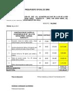 Presupuesto Actualizado Adicion 1 Agos
