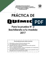 Practica Quimica Bachillerato a Tu Medida 02 2017