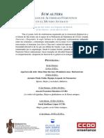 Ciclo San Isidro-Sum Altera Programa DEF