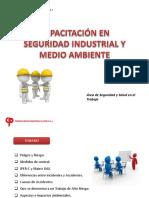 Capacitación en Seguridad Industrial y Medio Ambiente