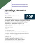 Macro y Microestructura