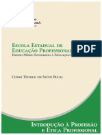 Saude Bucal Introducao a Profissiao e Etica Profissional