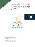 Plan de Trabajo de La Becrea Del Ies Fernando Savater Curso 2017-18 (1)