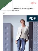 BX900 Fujitsu Server