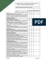 PIT-For-01 Lista de Chequeo - Proyectos de Dotación