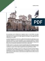 Comentario Catedral de Cádiz