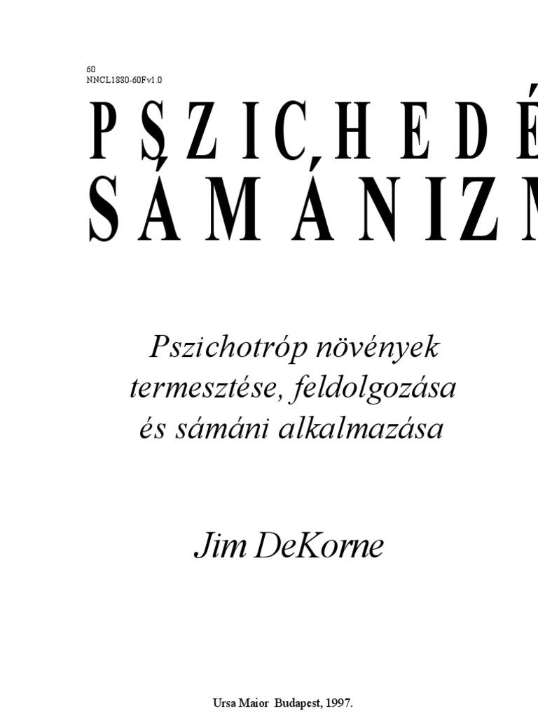 Jim Dekorne Pszichedelikus Samanizmus ca4267084c