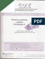 MacArthur Protocolos I y II