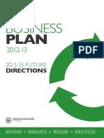 ZWSA Business Plan 2012