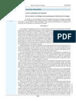 Ley Sobre El Diálogo Social Aragón