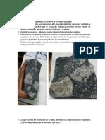 Cuestionario Petrologia Quebrada Rio Seco