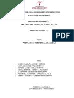 Endodoncia Patologías Periapicales