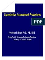 Bray 6 Liquefaction Assessment Procedures
