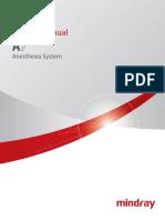 Mindray - Carrinho de Anestesia - A7_Service Manual