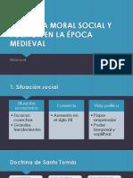 Doctrina Moral Social y Politica en El Medioevo