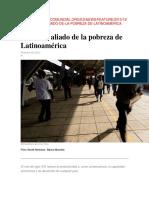 El Estrés, Aliado de La Pobreza de Latinoamérica