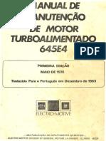 EMD - Manual de Manutencao Indice Motor 645