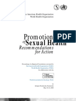 Promotion Sexual Health